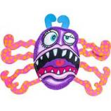 Fuzzu- Radioactive Splatterbug Frazz Cat Toy - Multi - Medium