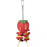 A&E Cage Company - Happy Beaks Strawberry Bird Toy - Small
