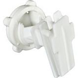 Woodstream Zareba - Rod Post Insulator For 2In Tape - White - 25/Bag