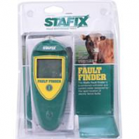 Tru - Test . - Stafix Fault Finder Electric Fence Tool - Green/Yellow -