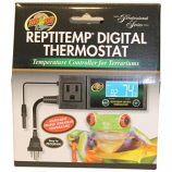 Zoo Med Laboratories - Reptitemp Digital Thermostat - Black