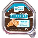 Triumph Pet - Triumph Victory Wet Cup Cat Food-Chicken-3.5 Oz