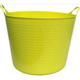 Tuff Stuff Products - Flex Tub - Yellow - 4.2 Gallon