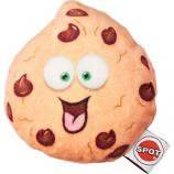 Ethical Dog - Fun Food Chocolate Chip Cookie Plush Toy - Assorted - Small