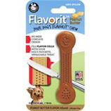 Pet Qwerks - Flavorit Flavored Nylon Bone-Peanut Butter-Small