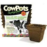 Cowpots  - Cowpots 12Pots/Pack - Square 4Inch