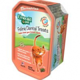 Emerald Pet Products - Cat Dental Treat Tub - Salmon - 11 Oz