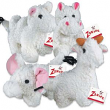 Zanies - Fleecy Friend Toy Elephant - 7.5Inch