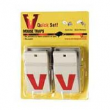Woodstream Victor Rodent - Victor Quickset Mouse Trap--2 Pack