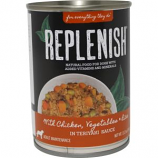 Replenish Pet - Grain Free Canned Dog Food - Chicken/Rice - 13.2 oz