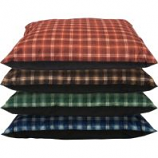 Dallas Mfg Company - Cozy Pet Kennel Bed - Plaid Assorted - 35In X 44In