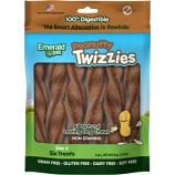Emerald Pet Products - Twizzies Sticks - Peanutty - 9 Inch