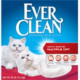 Clorox Petcare Products - Ever Clean Multi - Cat Clumping Litter - Lightly Scented - 25 Pound