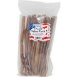 Best Buy Bones - Usa Bully Sticks Value Pack Treats - Natural - 10-12 In/1 Lb