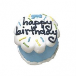 Bubba Rose Biscuit - Blue Birthday Baby Cake