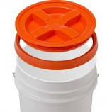 Gamma2 - Gamma Seal Lid - Orange - 5 Gallon/12 Inc