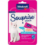 Vitakraft Pet - Souprise Broth Cat Treat - Salmon - 4 Pack