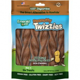 Emerald Pet Products - Twizzies Sticks - Peanutty - 6 Inch
