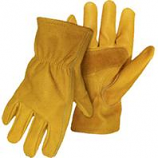 Boss Manufacturing -Grain Cowhide Leather Dirver Glove With Palm Patch-2X-Large