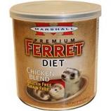 Marshall Pet Prod-Food - Marshall Premium Chicken Blend Ferret Diet - Chicken - 9 oz
