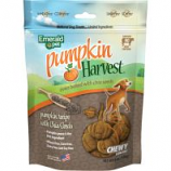 Emerald Pet Products - Pumpkin Harvest Chewy Dog Treats - Pumpkin/Chia Se - 6 Oz