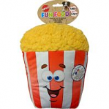 Ethical Dog - Fun Food Jumbo Popcorn Plush Toy - Assorted - 11 Inch