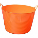 Tuff Stuff Products - Flex Tub - Orange - 16 Gallon