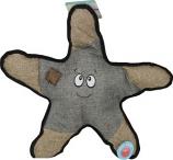 SnugArooz - Snugz Sophie The Starfish W/Rubber Spikey Ball - Grey - 21 Inch