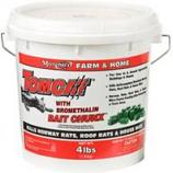 Motomco - Tomcat All Weather Bait Chunx-1 Oz/4 Pound