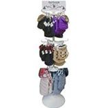 Ethical Fashion-Seasonal - 72Pc Coat Spinner Rack-Asst-72Pc