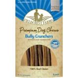 Fieldcrest Farms - Bully Crunchers 100% Beef Chews - Beef - 6In/6Pk