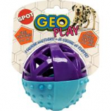 Ethical Dog - Geo Play Ball - Assorted - 3.5 Inch