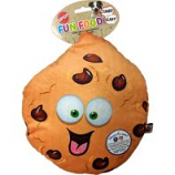 Ethical Dog - Fun Food Jumbo Cookie Plush Toy - Assorted - 11 Inch