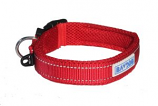 BayDog - Tampa Collar- Red - X Large
