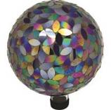 Alpine Corporation - Petals Mosaic Gazing Globe - 10 Inch