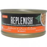 Replenish Pet - Grain Free Canned Cat Food - Salmon/Tuna - 2.8 oz
