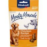 Vitakraft Pet - Meaty Morsels Dog Treat - Chicken/Pork Sausage - 4.2 Oz
