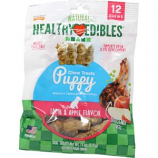 Tfh Publications/Nylabone - Healthy Edibles Puppy Pals Variety Chew Treat - Lamb & Apple - 12 Count