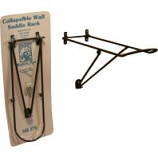 Newport Blacksmith Shop - Wall Saddle Rack Collapsible - Black