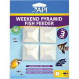 Aquarium Pharmaceuticals - Mini Pyramid 3day Feeder - 4 Count