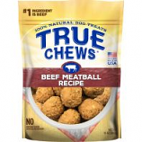 Tyson Pet Products - True Chews Premium Meatball Recipe Treats - Beef - 12 Oz