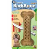 Pet Qwerks - Barkbone Wood Flavored Bone-Mint-Large