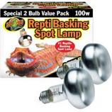 Zoo Med - Repti Basking Spot Lamp - 2 Pack - 100 Watt