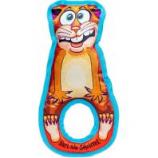 Fuzzu - Earl The Squirrel Grab Nabbers Tug Dog Toy - Orange - Large