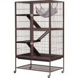 Prevue Pet Products - Prevue Ferret Delight Home - Java Hammertone - 31X20X54