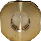 Tuff Stuff Products - Brass Drain & Plug - Brass - 3/4 Inch