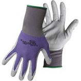 Boss Manufacturing -Ladyfinger Nitrile Palm Gloves For Women-Assorted-Small