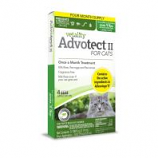 Tevra Brands - Vetality Advotect Ii Flea And Tick For Cats - 9+Lb/6 Pack