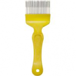 Miller Mfg  - Little Giant Honey UncappInchesg Scratcher Fork - Yellow/Metal -
