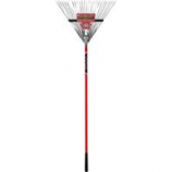 Bond Manufacturing - Contractors Grade Springback Rake-Red-24 Inch